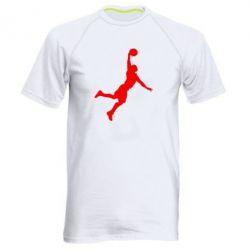 Мужская спортивная футболка Slam dunk - FatLine