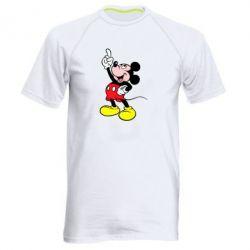 Мужская спортивная футболка Смотри вверх - FatLine