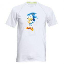 Мужская спортивная футболка Sonic - FatLine