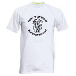 Мужская спортивная футболка Sons of Anarchy - FatLine