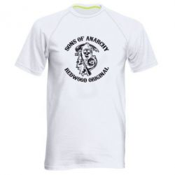 Мужская спортивная футболка Sons of Anarchy