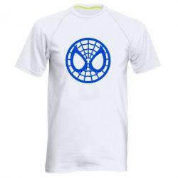 Мужская спортивная футболка Спайдермен лого - FatLine