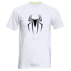 Мужская спортивная футболка Spider Man Logo - FatLine