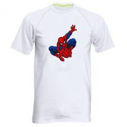 Мужская спортивная футболка Spiderman - FatLine