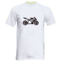 Мужская спортивная футболка Спортивный байк - FatLine