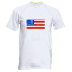 Мужская спортивная футболка США - FatLine