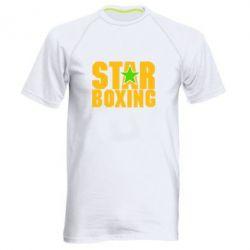 Чоловіча спортивна футболка Зірка Боксу