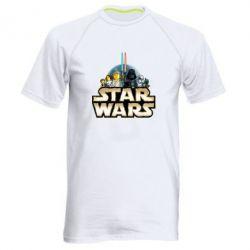 Мужская спортивная футболка Star Wars Lego - FatLine