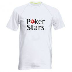 Мужская спортивная футболка Stars of Poker - FatLine