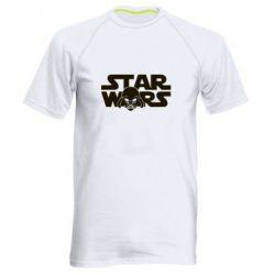 Мужская спортивная футболка StarWars Logo - FatLine