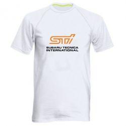 Мужская спортивная футболка STI - FatLine