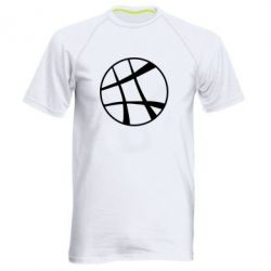 Мужская спортивная футболка Strange Logo