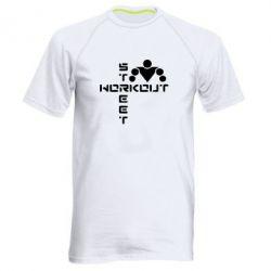 Мужская спортивная футболка Street Workout крест - FatLine