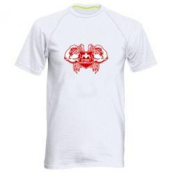 Мужская спортивная футболка Street Workout Крылья - FatLine