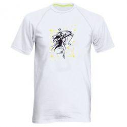 Мужская спортивная футболка Стрелец - FatLine