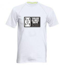 Мужская спортивная футболка Subaru All-Wheel - FatLine