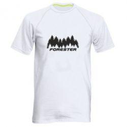 Мужская спортивная футболка Subaru Forester