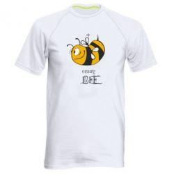 Мужская спортивная футболка Сумасшедшая пчелка - FatLine