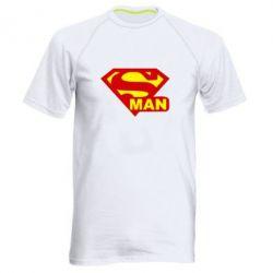 Мужская спортивная футболка Super Man - FatLine