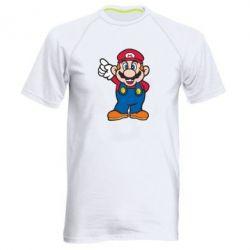 Мужская спортивная футболка Супер Марио - FatLine