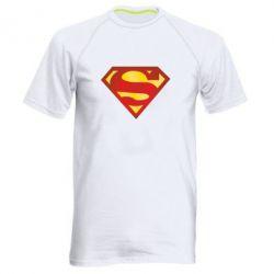 Мужская спортивная футболка Superman Classic - FatLine