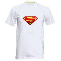 Мужская спортивная футболка Superman Logo - FatLine