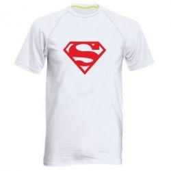 Мужская спортивная футболка Superman одноцветный - FatLine