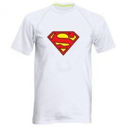 Мужская спортивная футболка Superman Symbol - FatLine