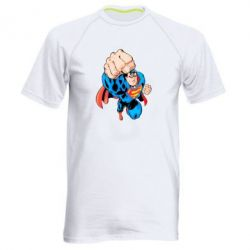 Мужская спортивная футболка Супермен Комикс - FatLine