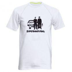 Мужская спортивная футболка Supernatural Братья Винчестеры - FatLine