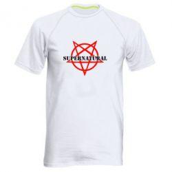 Мужская спортивная футболка Supernatural