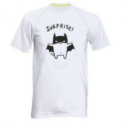 Мужская спортивная футболка Surprise! - FatLine