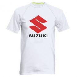 Мужская спортивная футболка Suzuki - FatLine