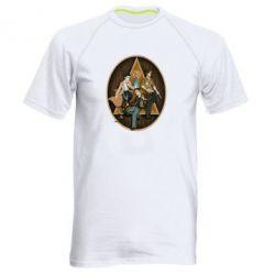 Мужская спортивная футболка Сверхъестественное Арт - FatLine
