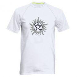 Мужская спортивная футболка Сверхъестественное Star - FatLine