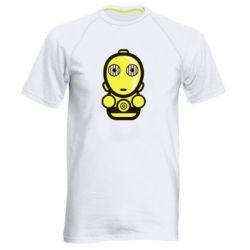 Мужская спортивная футболка Sweet C-3PO - FatLine