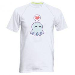 Мужская спортивная футболка Sweet Octopus