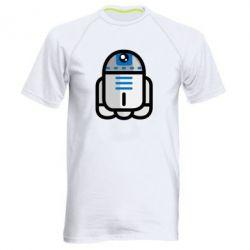 Мужская спортивная футболка Sweet R2D2 - FatLine