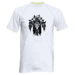Мужская спортивная футболка Symbol horde - FatLine