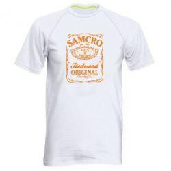 Мужская спортивная футболка Сыны Анархии Samcro