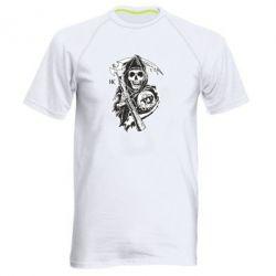 Мужская спортивная футболка Сыны Анархии - FatLine