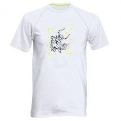Мужская спортивная футболка Телец - FatLine