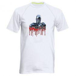 Мужская спортивная футболка Терминатор Т-800