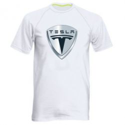 Мужская спортивная футболка Tesla Corp - FatLine
