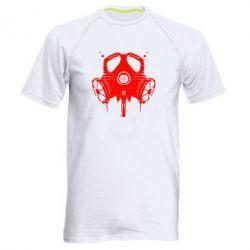 Мужская спортивная футболка The Chemodan Clan противогаз - FatLine