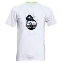 Мужская спортивная футболка The Force - FatLine