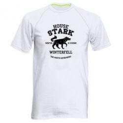 Мужская спортивная футболка The North Remembers - House Stark - FatLine