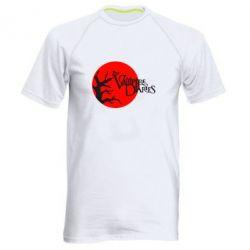 Мужская спортивная футболка The Vampire Diaries