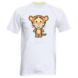 Мужская спортивная футболка тигрюля - FatLine