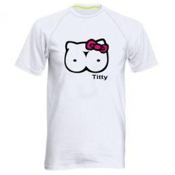 Чоловіча спортивна футболка Titty - FatLine